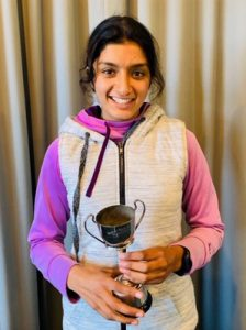 Congratulations Jindh Bhullar - winner of the Waikato Under 21 Girls Net Cup.